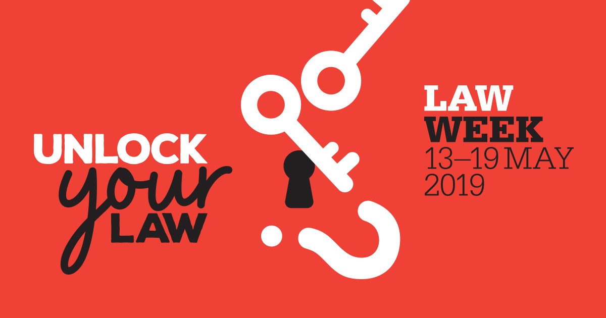 Law week graphic - logo