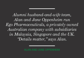 Alan and Jane Oppenheim