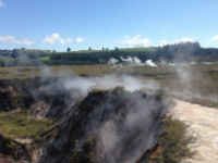 Taupo Volcanic Zone Field Trip. Image: Dr Chris Greening.