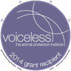 Voiceless Grants recipient badge