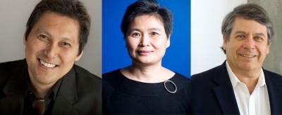 L to R: Professor Wong, Professor Wu and Professor Trounson