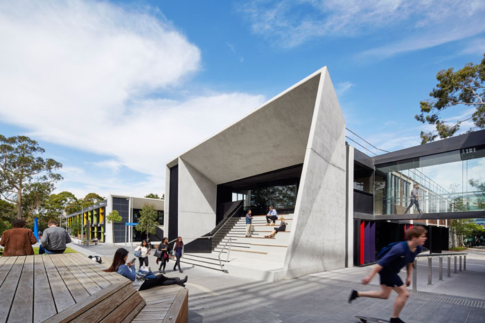 Our brand new science precinct is home to a wide variety of informal study spaces in and outside the buildings.