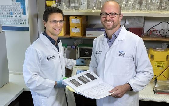 Alex Reichenbach (Monash PhD student) and Associate Professor Zane Andrews