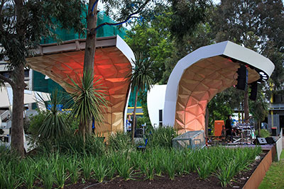 Monash University Caulfield campus sound shell