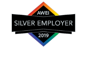 Silver Employer AWEI logo