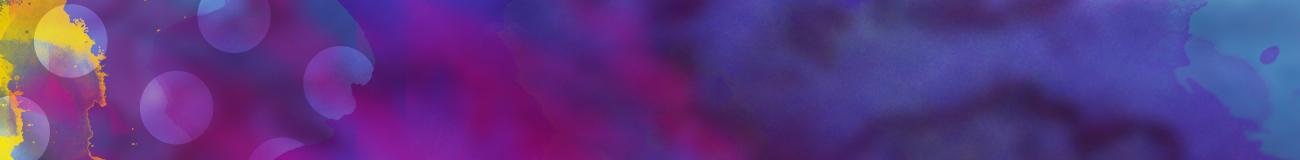 Mixed watercolours purple blue yellow