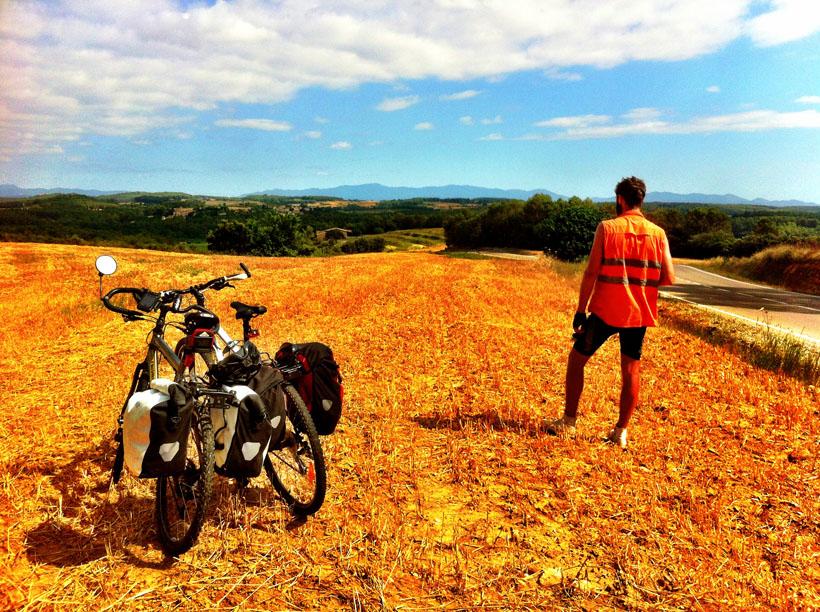 Bike tour through Catalonia, Spain