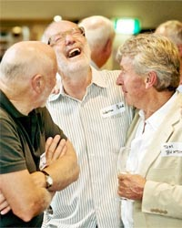 Image of men laughing