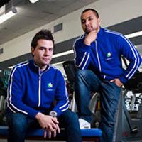 Damian Kovach and Adi Rum