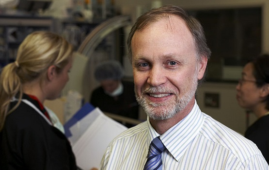 Dr Jeff Alison has fitted a heart patient with a wireless cardiac pacemaker
