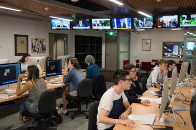 Digital journalism students