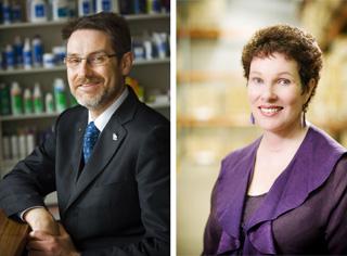 Alan Oppenheim and Dr Jane Oppenheim