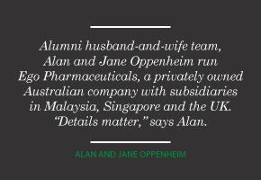 Alan and Jane Oppenheim