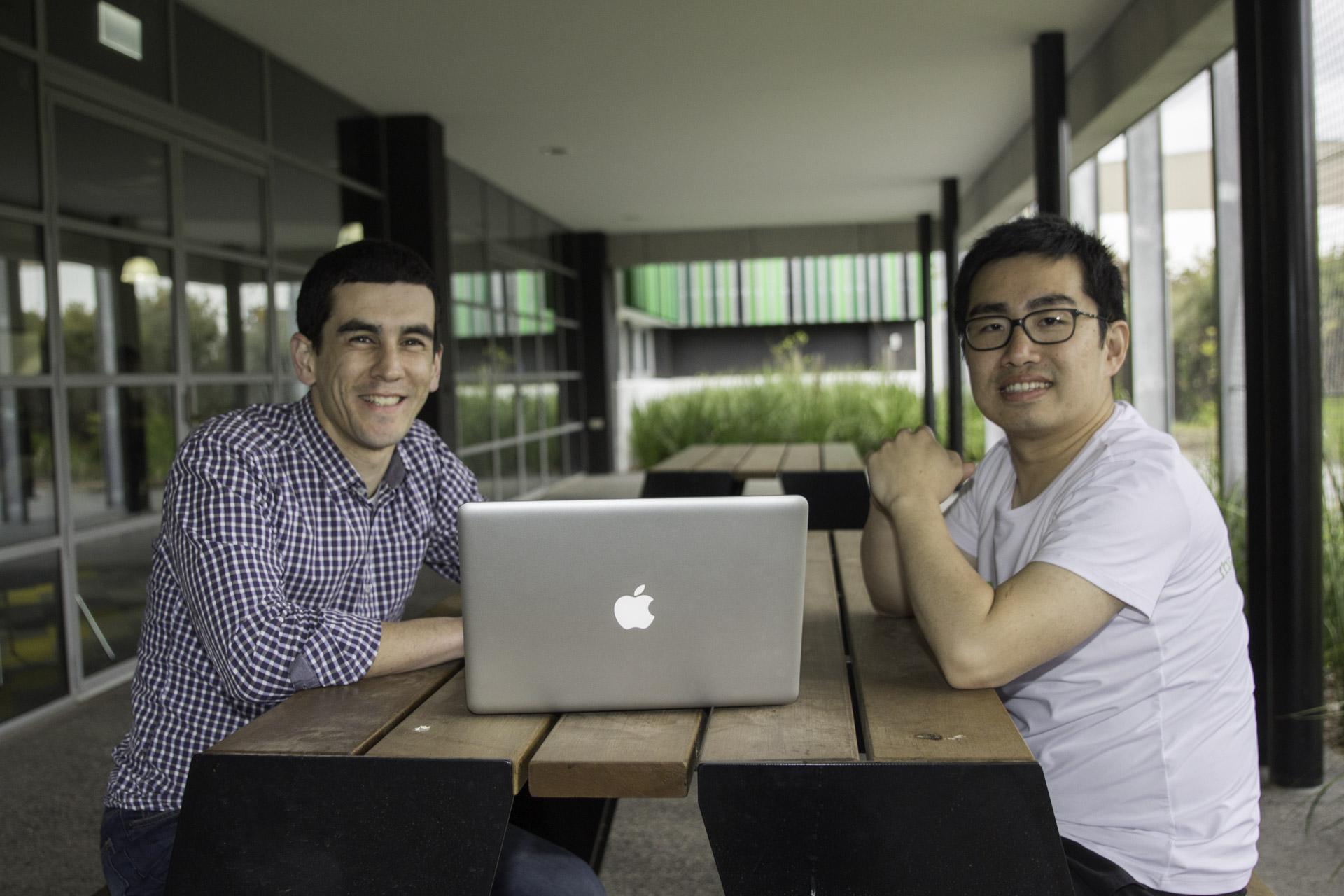 Silva Wei and Stephen Zuluaga