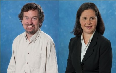 Dr Glyn Wittwer and Dr Janine Dixon