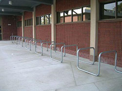 Example of Bicycle parking
