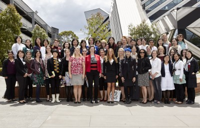 Future Women Leaders Conference attendees