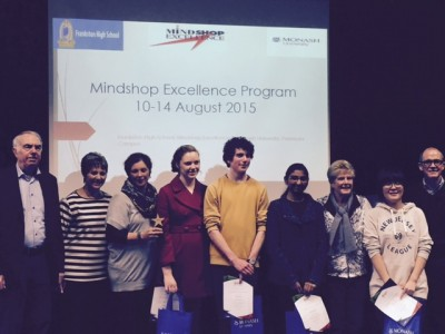Students participate in the Mindshop Excellence Program at Peninsula campus.