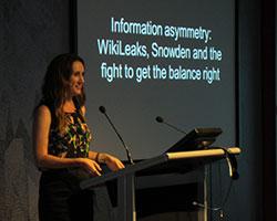 Cassie Findlay, Guest speaker