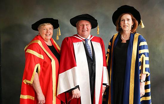 Lord Mayor hon doctorate
