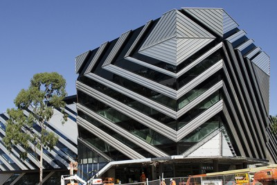 The New Horizons building, shared by Monash and the CSIRO.
