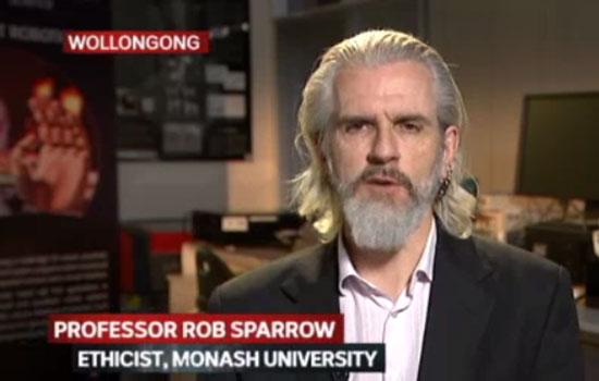 Monash Professor Sparrow on ABC Lateline