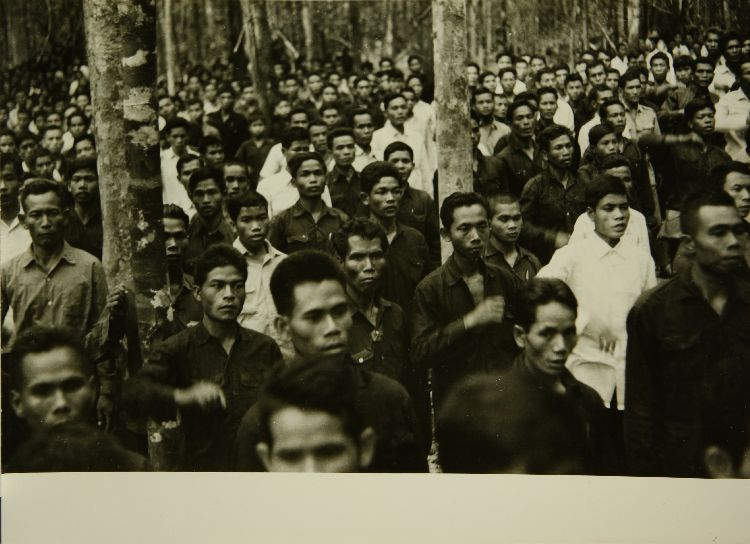 Trip to the liberated zone of Cambodia by Norodom Sihanouk, March/April 1973