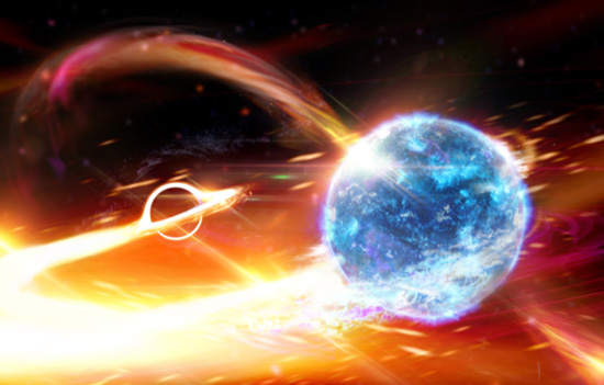 Inexplicable cosmic event