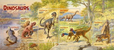 The new release Australia Post stamp set will be launched tomorrow