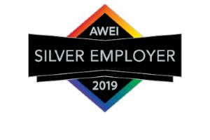 Silver Employer AWEI logo