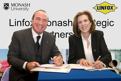 Monash-Linfox partnership