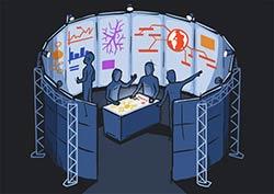 CAVE2 Illustration