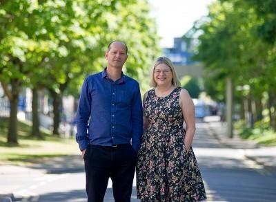 Professors Anthony Garratt and Heather Anderson