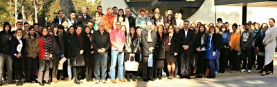 Students and academics from a range of institutions attended the seminar.